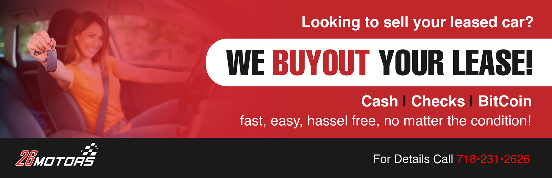 We Buyout Your Lease